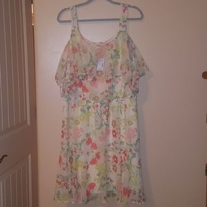 Maurices Plus Size Spring Dress Size 16/18